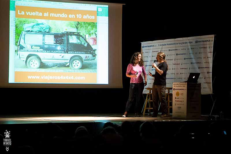 Conferencia de Pablo Rey y Anna Callau en Madrid, Hosteworld