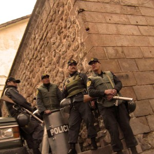 There are good cops and bad cops, and some could be scary. Peru